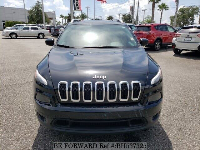 Used 2018 JEEP CHEROKEE BH537325 for Sale