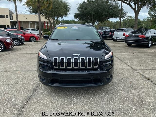 Used 2018 JEEP CHEROKEE BH537326 for Sale