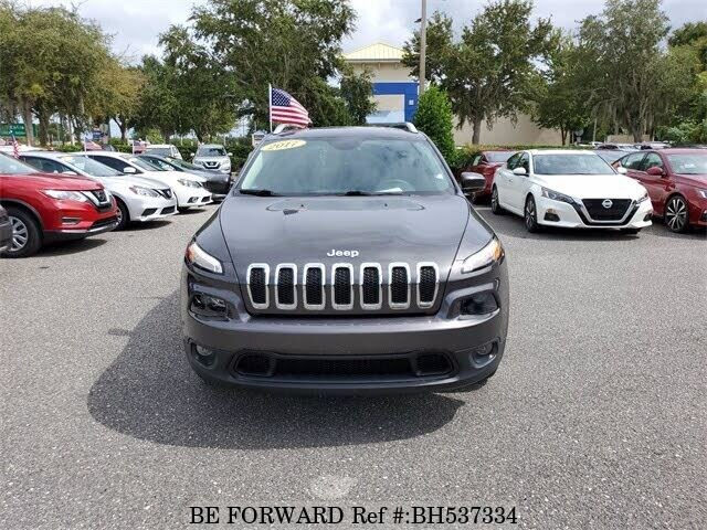 Used 2017 JEEP CHEROKEE BH537334 for Sale