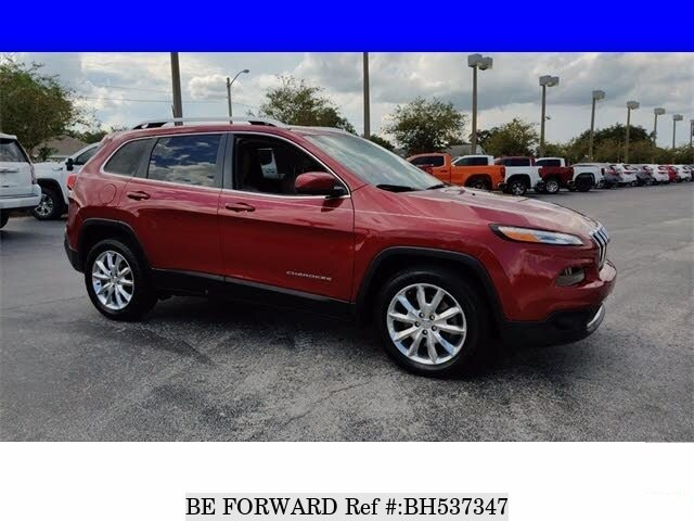 Used 2017 JEEP CHEROKEE BH537347 for Sale
