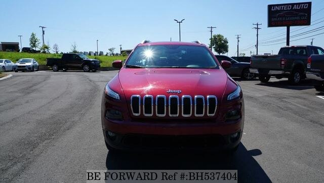 Used 2015 JEEP CHEROKEE BH537404 for Sale