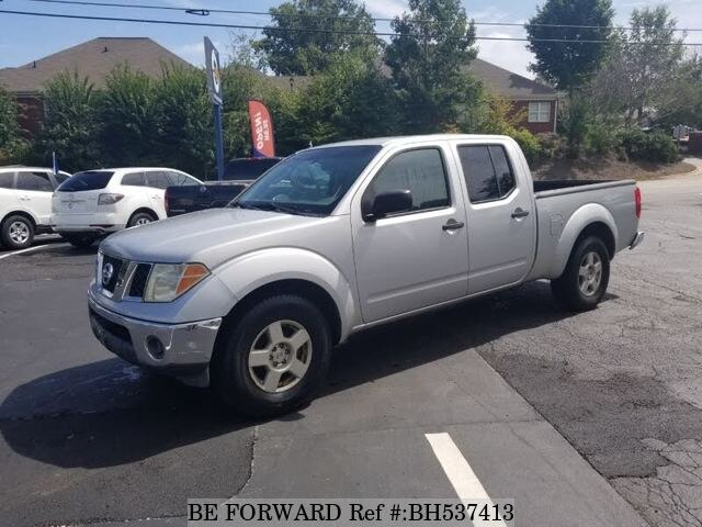 Used 2008 NISSAN FRONTIER BH537413 for Sale