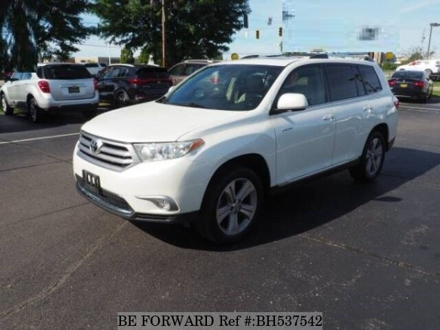 Used 2013 TOYOTA HIGHLANDER BH537542 for Sale