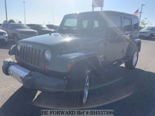 Used 2008 JEEP WRANGLER BH537599 for Sale