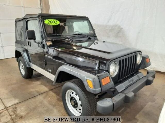 Used 2002 JEEP WRANGLER BH537601 for Sale