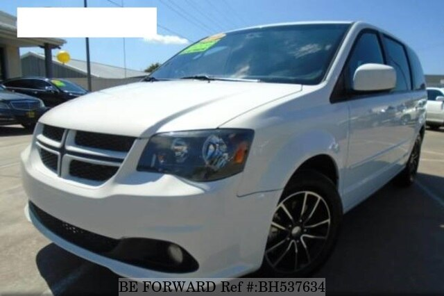 Used 2017 DODGE GRAND CARAVAN BH537634 for Sale