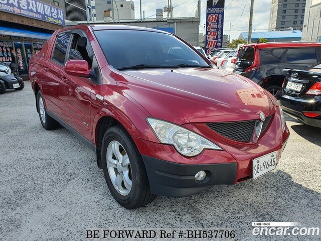 Used 2006 SSANGYONG ACTYON BH537706 for Sale