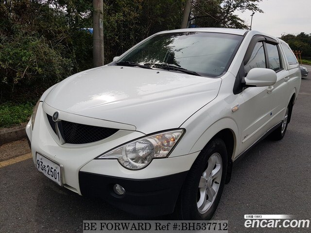 Used 2006 SSANGYONG ACTYON BH537712 for Sale