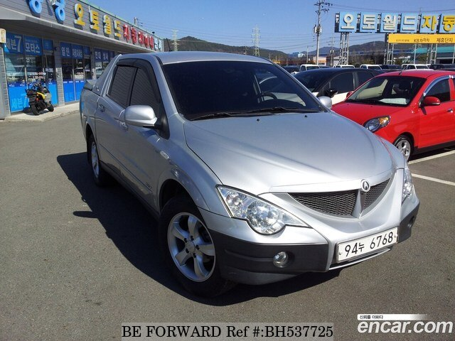 Used 2007 SSANGYONG ACTYON BH537725 for Sale