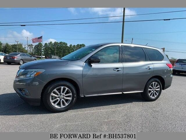 Used 2015 NISSAN PATHFINDER BH537801 for Sale