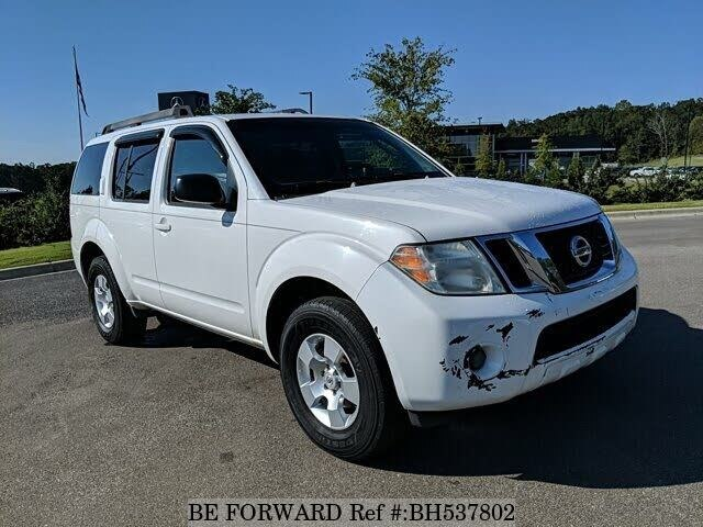 Used 2008 NISSAN PATHFINDER BH537802 for Sale