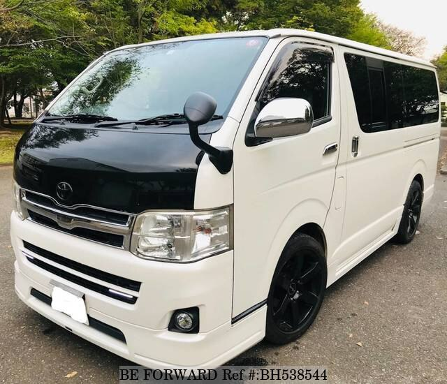 Used 2011 TOYOTA HIACE VAN BH538544 for Sale