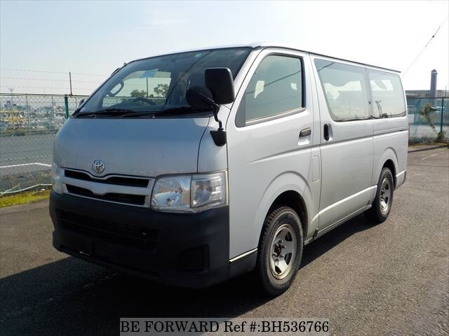 Used 2013 TOYOTA HIACE VAN BH536766 for Sale