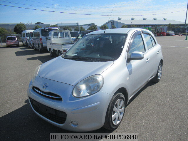 Used 2010 NISSAN MARCH BH536940 for Sale