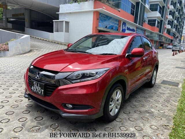 Used 2017 HONDA VEZEL BH539929 for Sale