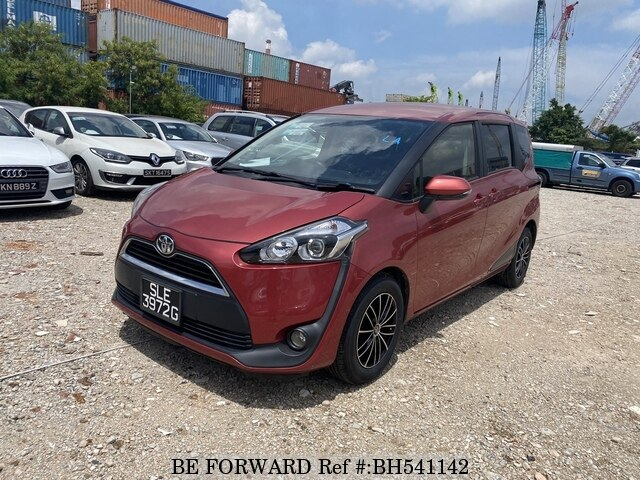 Used 2016 TOYOTA SIENTA BH541142 for Sale