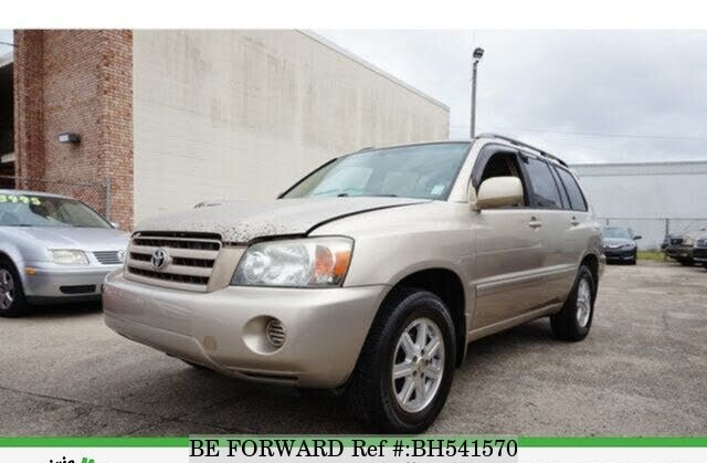 Used 2006 TOYOTA HIGHLANDER BH541570 for Sale