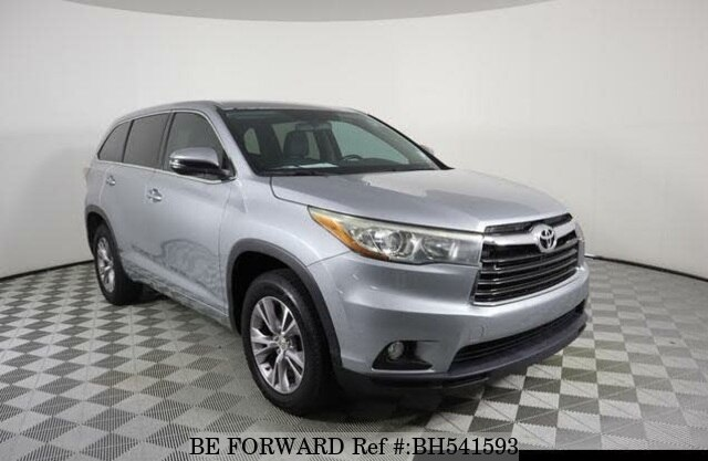 Used 2015 TOYOTA HIGHLANDER BH541593 for Sale