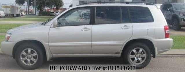 Used 2007 TOYOTA HIGHLANDER BH541607 for Sale
