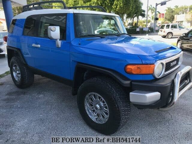 Used 2007 TOYOTA FJ CRUISER BH541744 for Sale