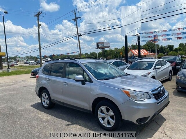 Used 2015 SUBARU FORESTER BH541753 for Sale