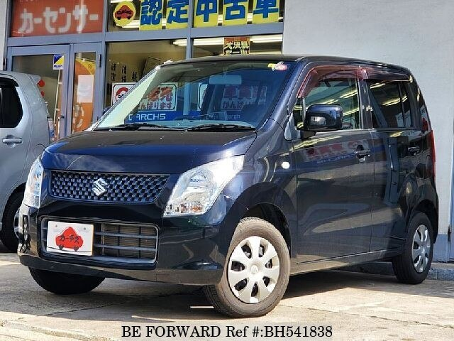 Used 2010 SUZUKI WAGON R BH541838 for Sale
