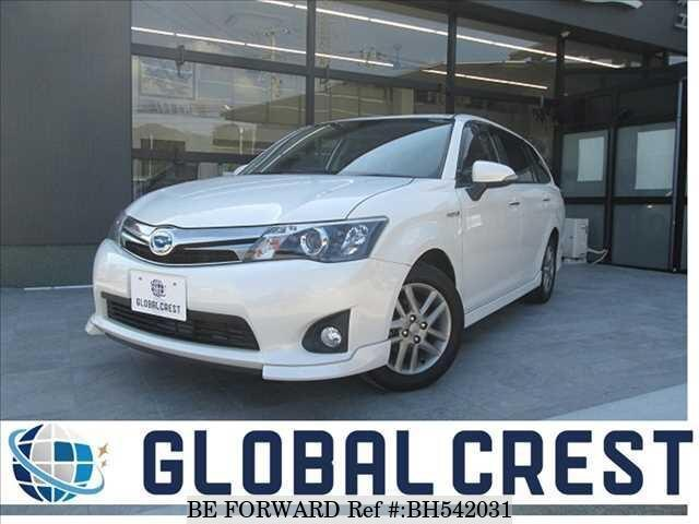 Used 2015 TOYOTA COROLLA FIELDER BH542031 for Sale