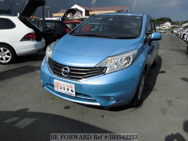 Used 2014 NISSAN NOTE BH542253 for Sale
