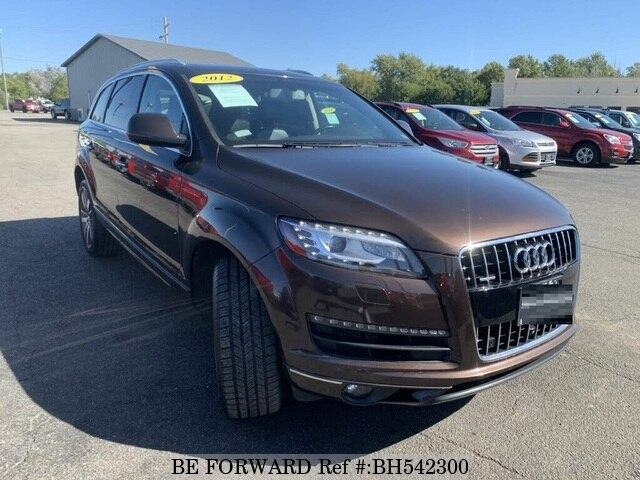 Used 2013 AUDI Q7 BH542300 for Sale