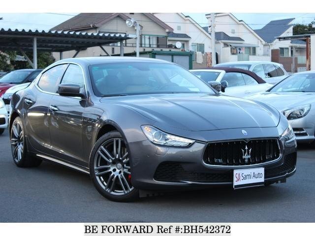 Used 2016 MASERATI GHIBLI BH542372 for Sale