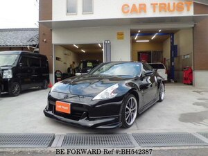 Used 2009 NISSAN FAIRLADY Z BH542387 for Sale