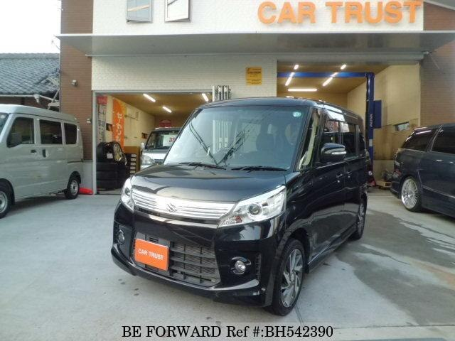 Used 2013 SUZUKI SPACIA BH542390 for Sale