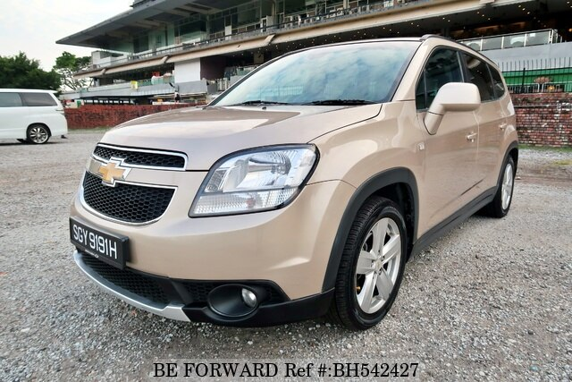 Used 2012 CHEVROLET ORLANDO BH542427 for Sale