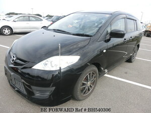 Used 2008 MAZDA PREMACY BH540306 for Sale