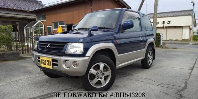 Used 2002 MITSUBISHI PAJERO MINI BH543208 for Sale