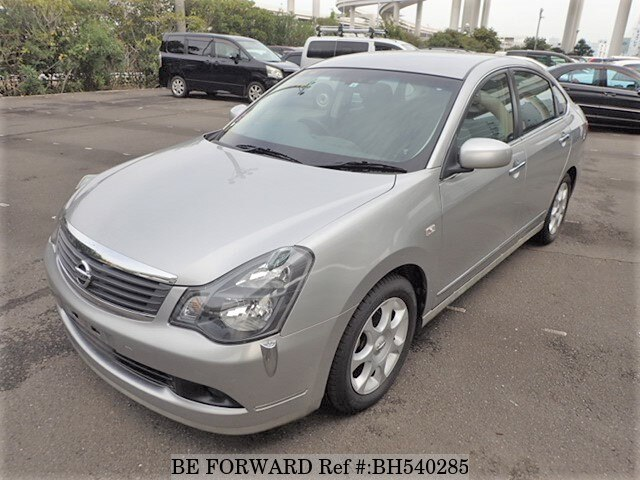 Used 2008 NISSAN BLUEBIRD SYLPHY BH540285 for Sale