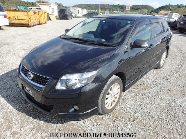 Used 2009 TOYOTA COROLLA FIELDER BH542566 for Sale