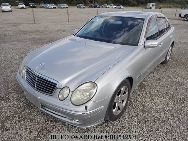 Used 2002 MERCEDES-BENZ E-CLASS BH542578 for Sale