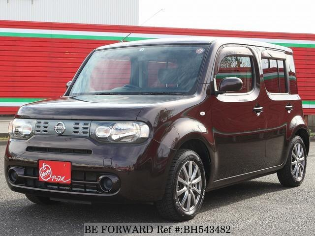 Used 2012 NISSAN CUBE BH543482 for Sale