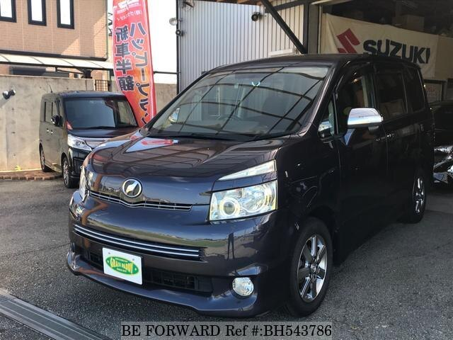 Used 2009 TOYOTA VOXY BH543786 for Sale