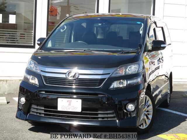 Used 2013 TOYOTA VELLFIRE BH543810 for Sale