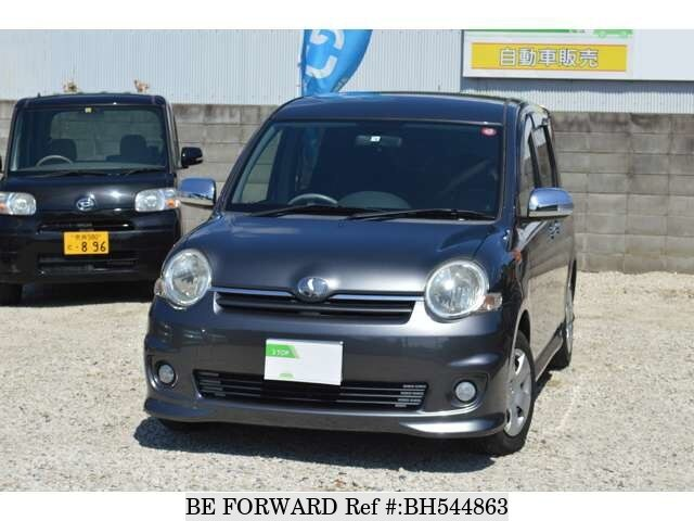 Used 2008 TOYOTA SIENTA BH544863 for Sale