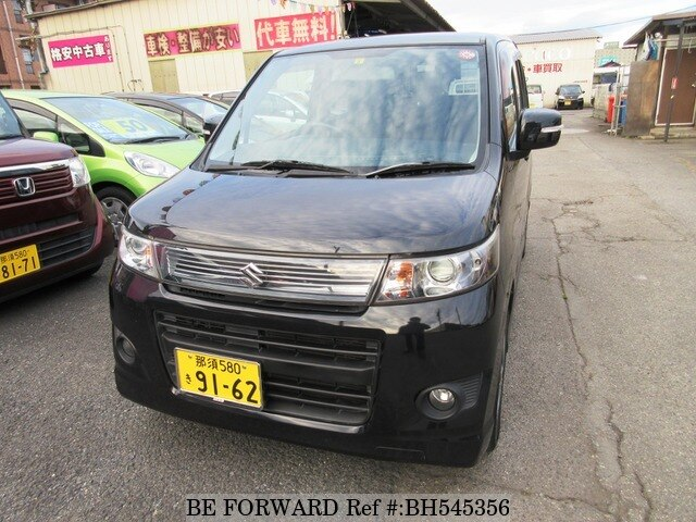 Used 2012 SUZUKI WAGON R BH545356 for Sale