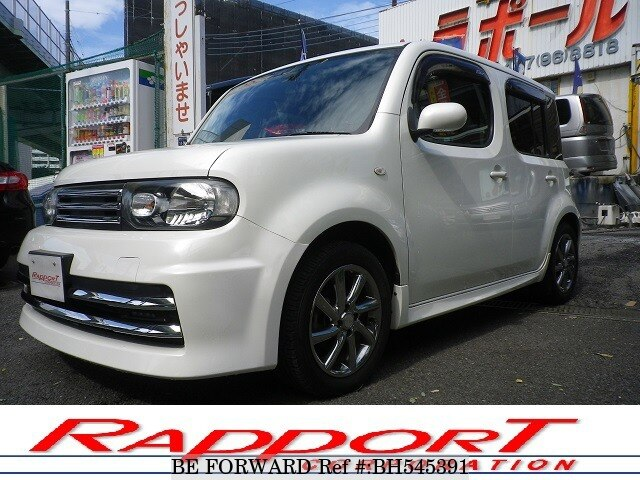 Used 2014 NISSAN CUBE BH545391 for Sale