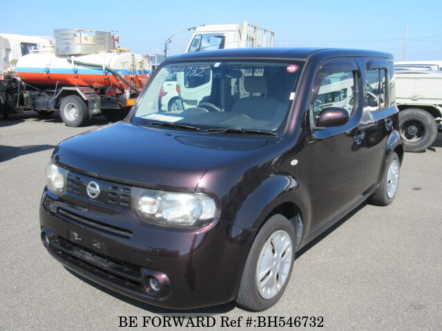 Used 2010 NISSAN CUBE BH546732 for Sale