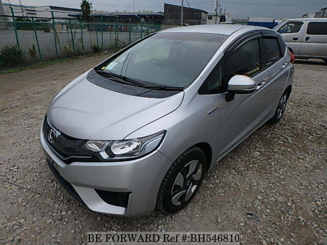 Used 2015 HONDA FIT HYBRID BH546810 for Sale