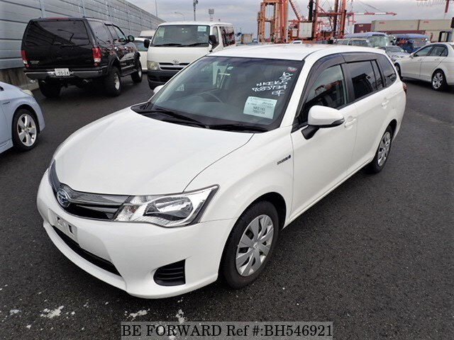 Used 2014 TOYOTA COROLLA FIELDER BH546921 for Sale
