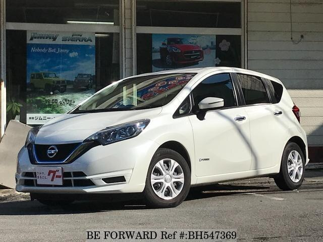 Used 2017 NISSAN NOTE BH547369 for Sale