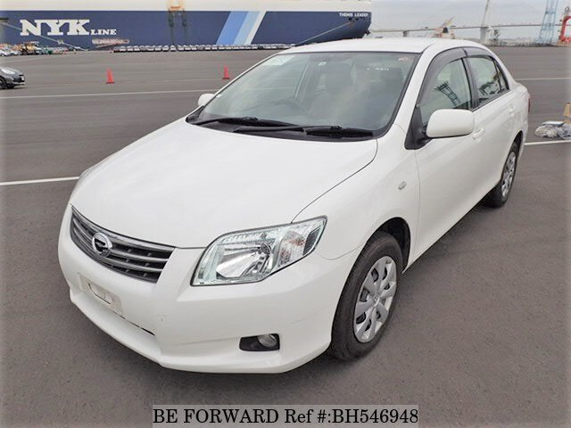Used 2010 TOYOTA COROLLA AXIO BH546948 for Sale