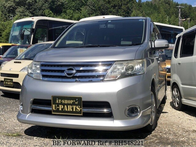Used 2009 NISSAN SERENA BH548221 for Sale